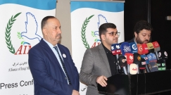 Alliance of iraqi minorities network held a press conference entitled iraqi minorities victims of regional conflicts