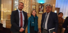 Meeting Alliance of Iraqi Minorities Network  AIM with USIP president