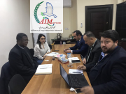 A delegation from the Aillacies of Iraqi Minorities Network , including Mr. Ghanem Elias and Mr. Rajab Kakai visited UNAMI