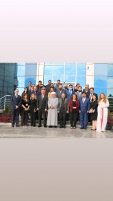members of the Alliance of Iraqi Minorities Network visited the Ministry of Endowments  to participate in the occasion of the International Religious Day, Religious Coexistence and Religious Freedom in Kurdistan Region