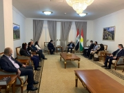 A delegation from the Alliance of Iraqi Minorities Network within the project improving the humain rights of minorities visited the Presidency of the Kurdistan region