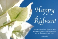 On the occasion of Eid Al-Radwan, the Alliances of Iraqi Minorities Network offers the warmest congratulations to the Baha'i brothers in Iraqi,Happy Ridvan